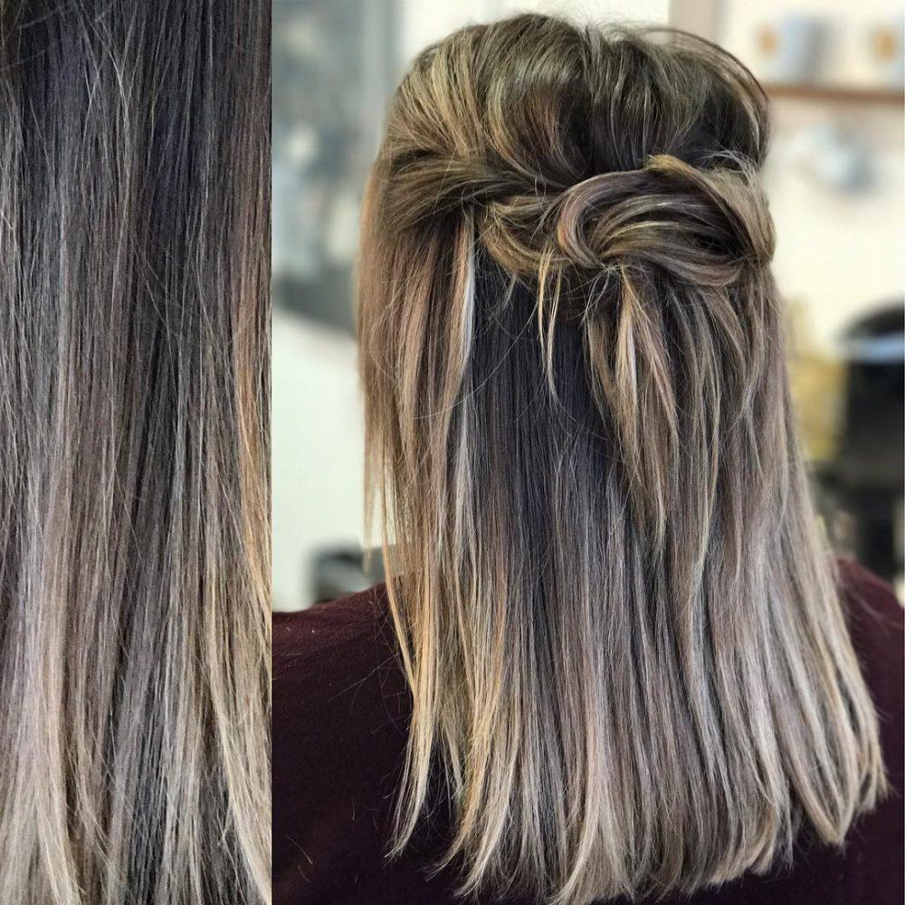 Soft Boho Twist hairstyle