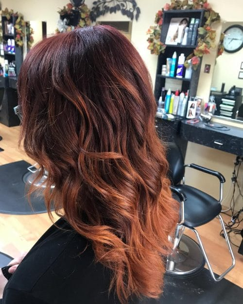Soft Copperlights hairstyle