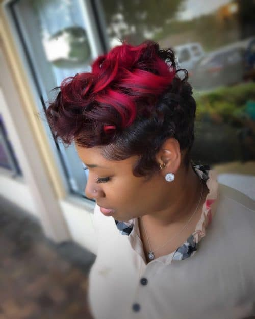 Soft Yet Bold hairstyle