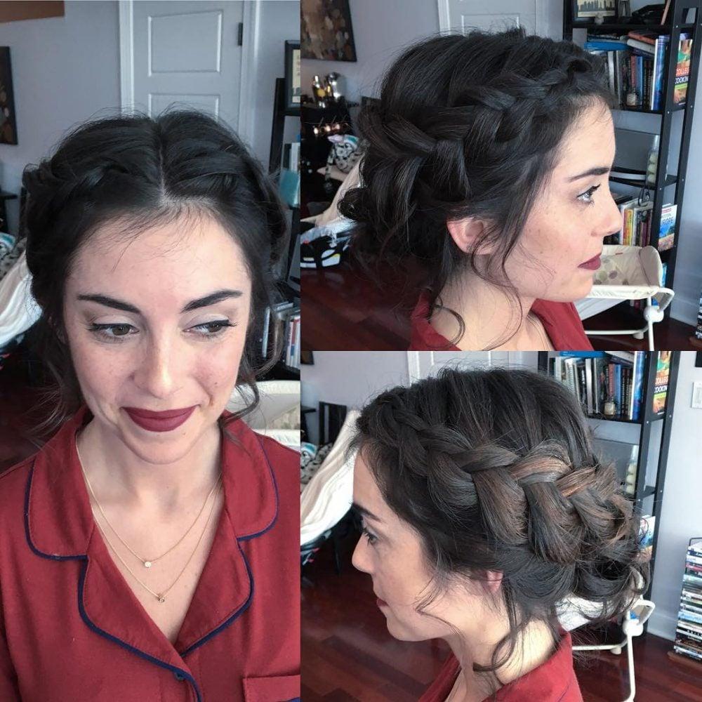 Softly Braided hairstyle