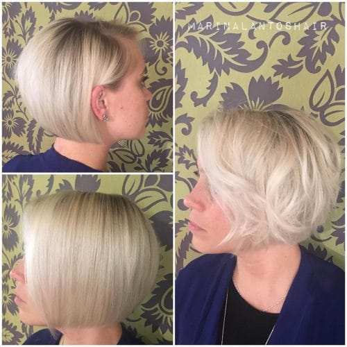 Softly Textured Bob hairstyle