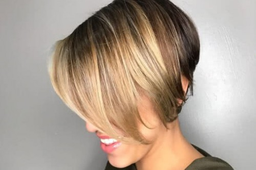 Layered Textured Bob Hairstyle