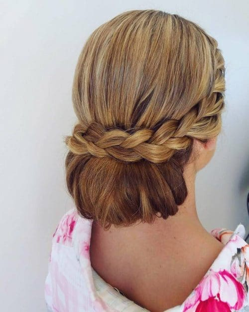 Sophisticated Low-Do hairstyle