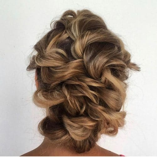 Sophisticated Swirls hairstyle
