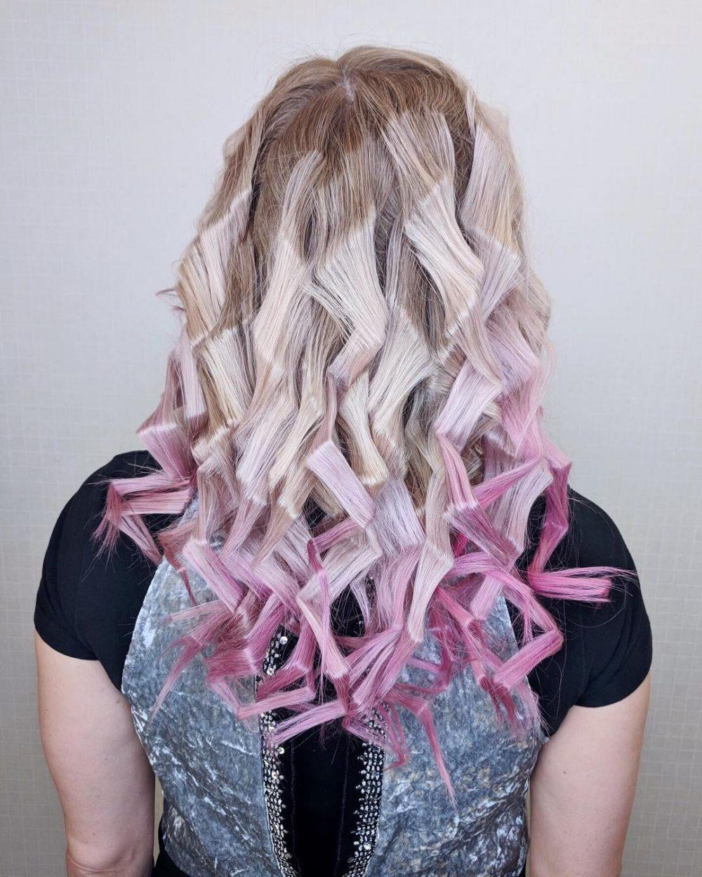 Spunky Alternative Curls hairstyle