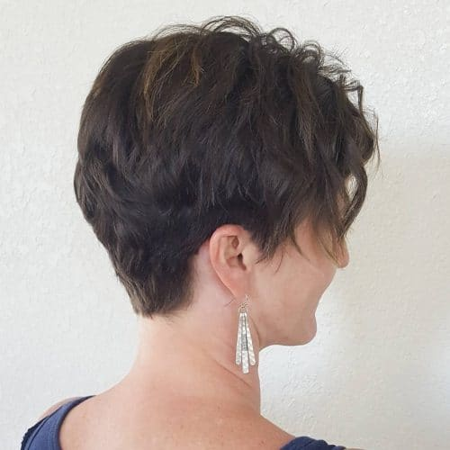 Spunky and Textured hairstyle