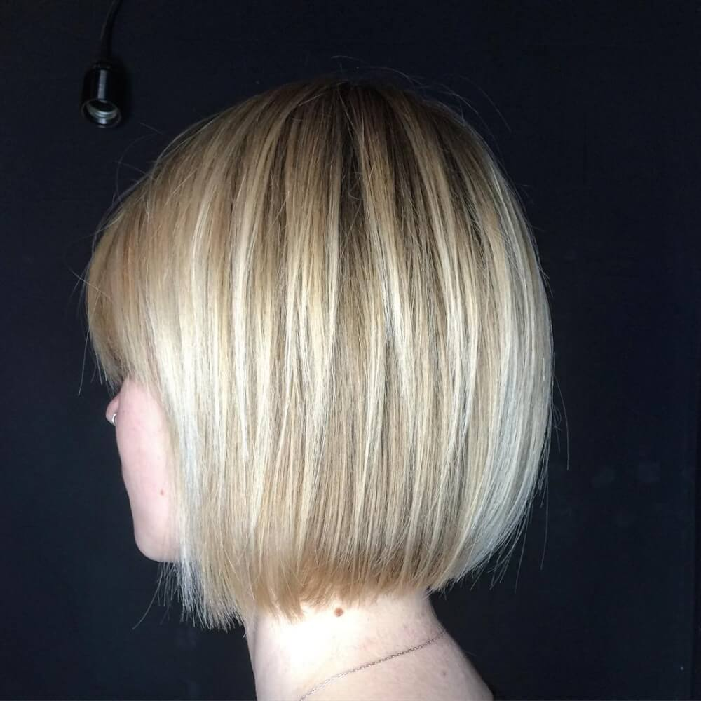 Classic Square hairstyle
