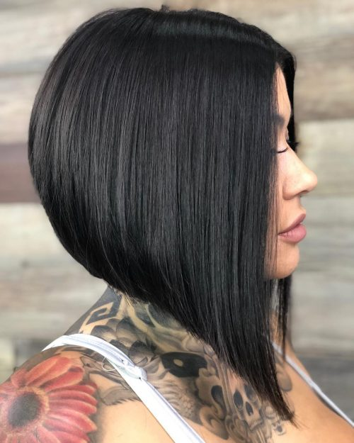 Stacked A-Line Bob