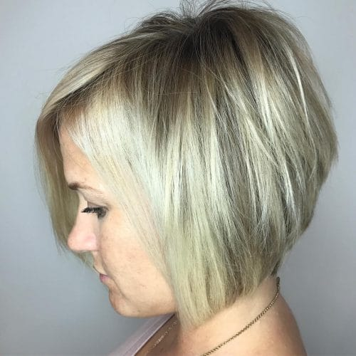 30 hottest short layered haircuts right now fall 2017 stacked bob hairstyle urmus Gallery