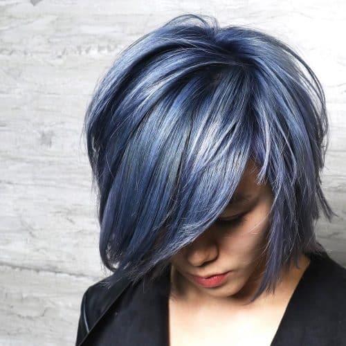 Acero azul oscuro