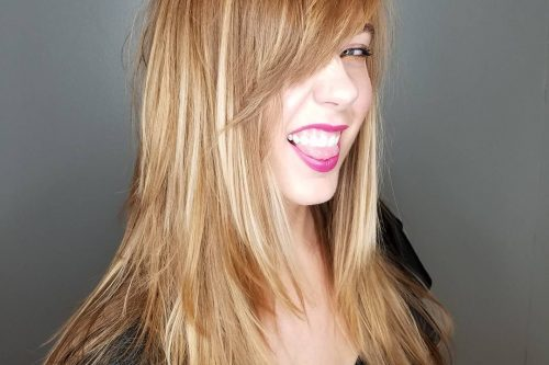 Flattering haircuts for women with long faces