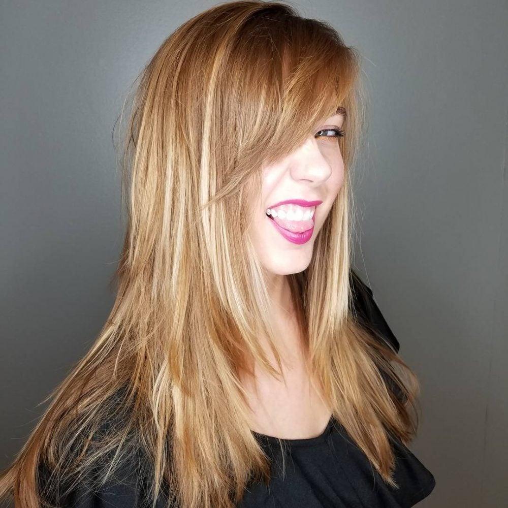 Stevie Nicks-Inspired Shag hairstyle