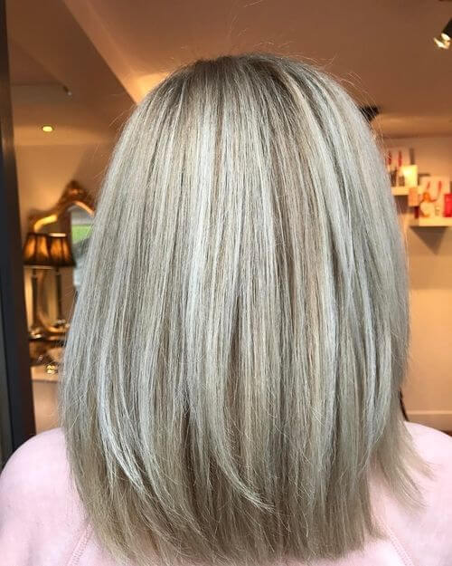 straight blonde hair for women