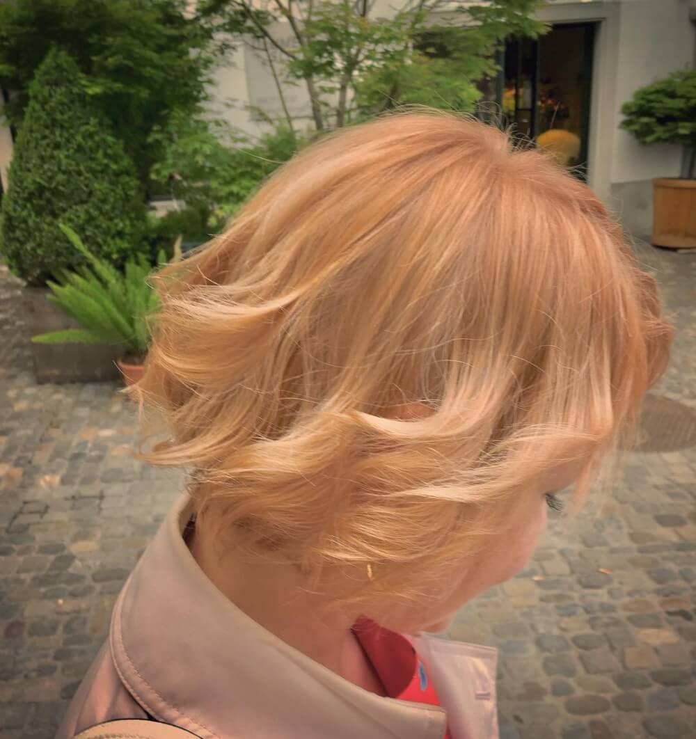 Lively Color hairstyle