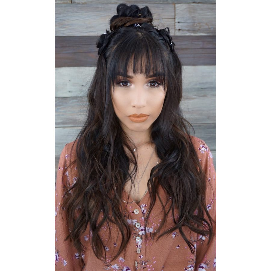 Structured Boho hairstyle