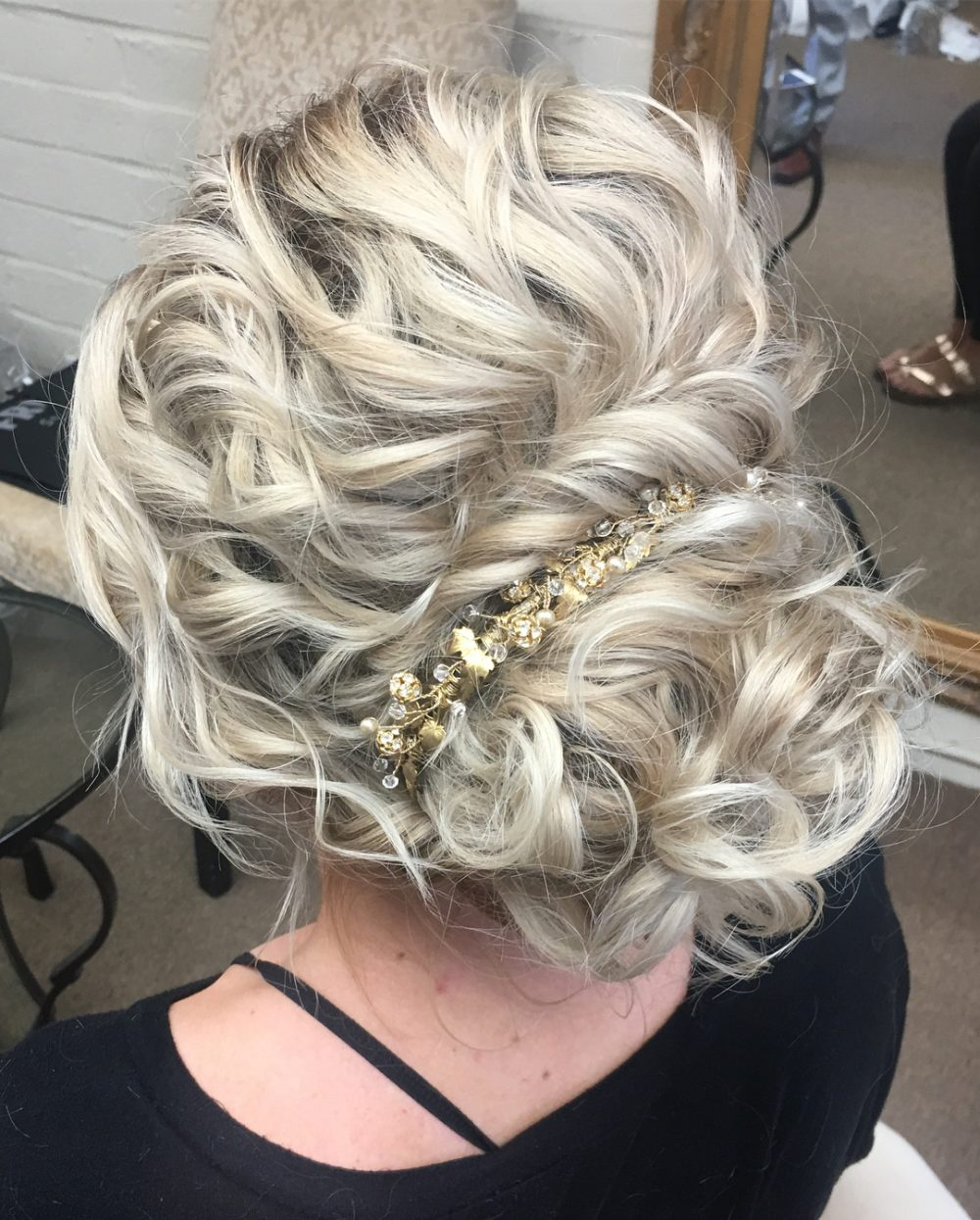 29 Curly Updos For Curly Hair (See These Cute Ideas For 2019