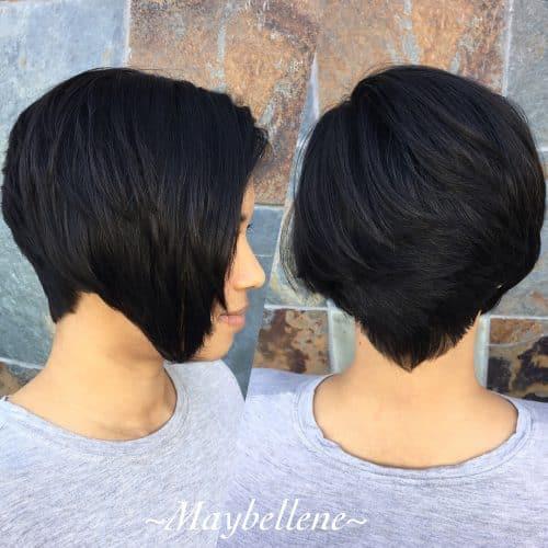 Top 17 Wedge Haircut Ideas For Short Thin Hair In 2019