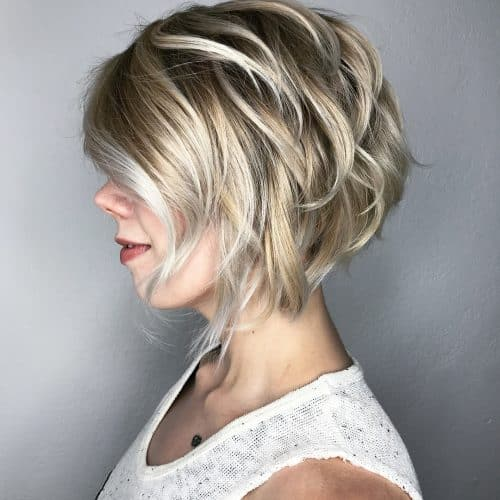 Stylish Stacked Bob