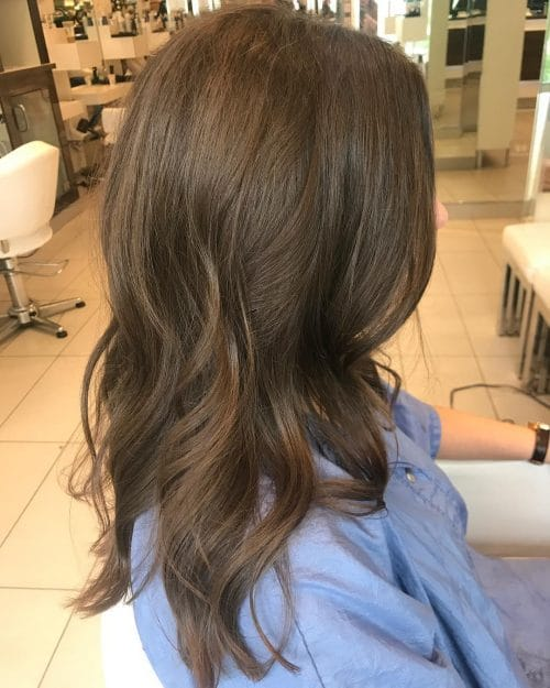 Subtle Angle & Long Layers hairstyle
