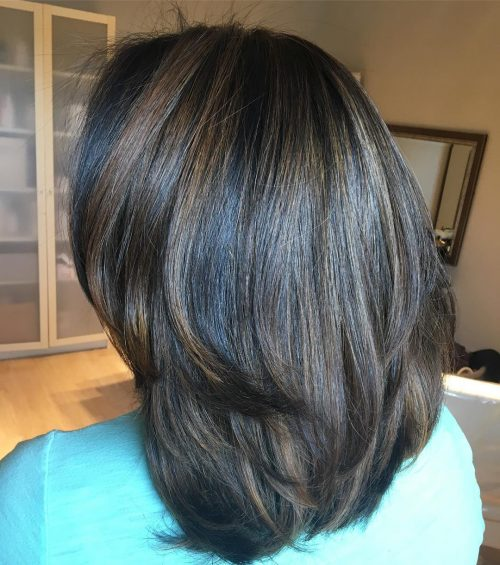 Subtle Balayaged Bob hairstyle