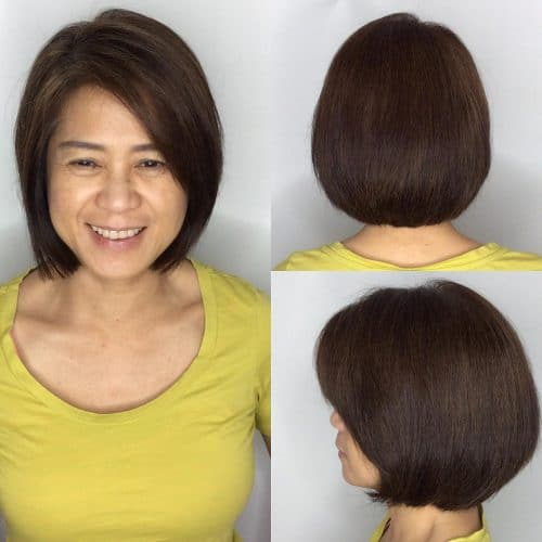 Subtle Layering hairstyle