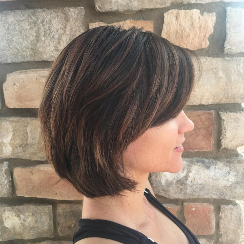 sun kissed balayage hair color