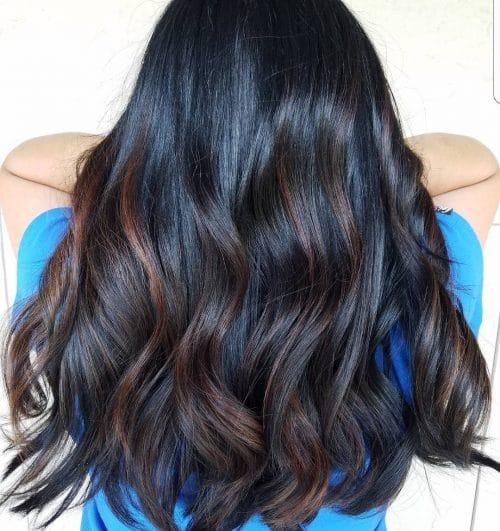 Sunkissed Caramel Balayage hairstyle