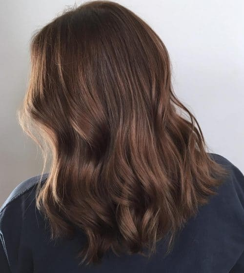 Sunkissed Chocolate Brown hair color