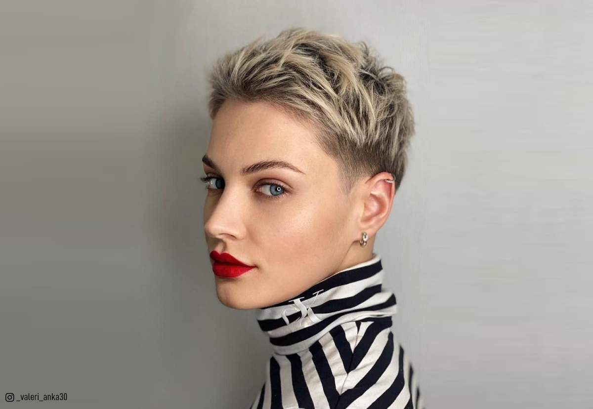 18 Very Short Haircuts For Women Trending In 2021