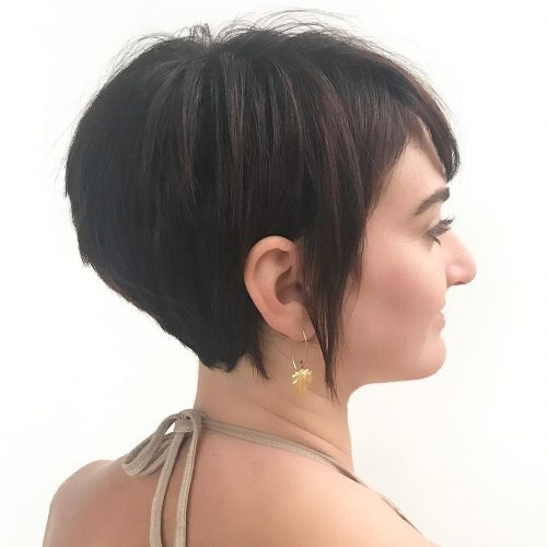 Super Layered Graduated Bob hairstyle