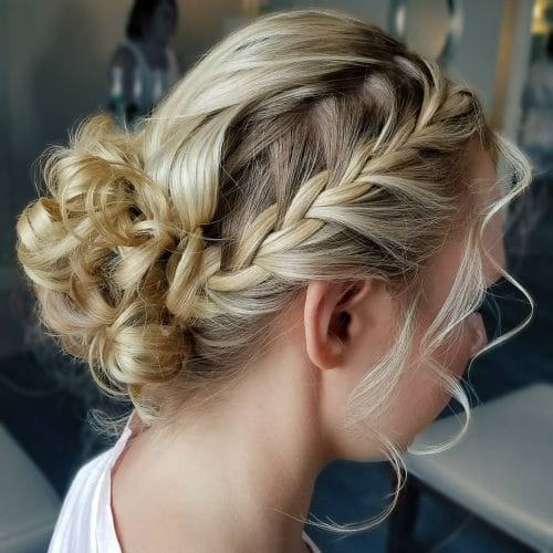 Sweeping Braid hairstyle