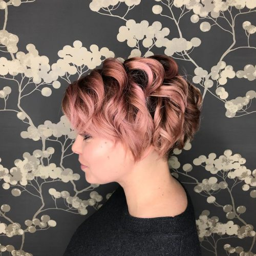 71 Alluring Rose Gold Hair Color Ideas To Try In 2019