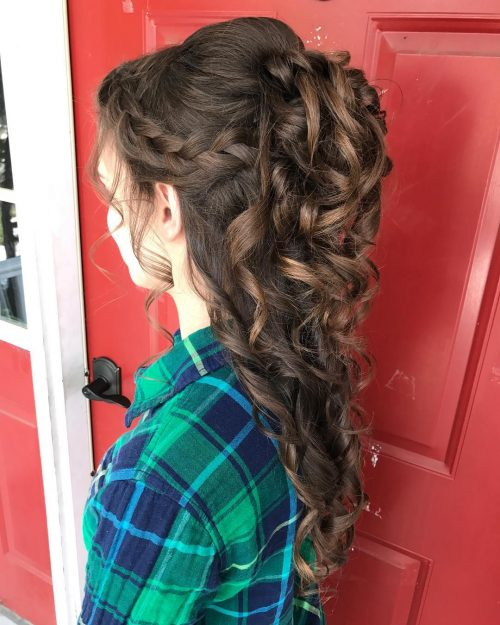 31 Cute Amp Easy Prom Hairstyles For Long Hair For 2020
