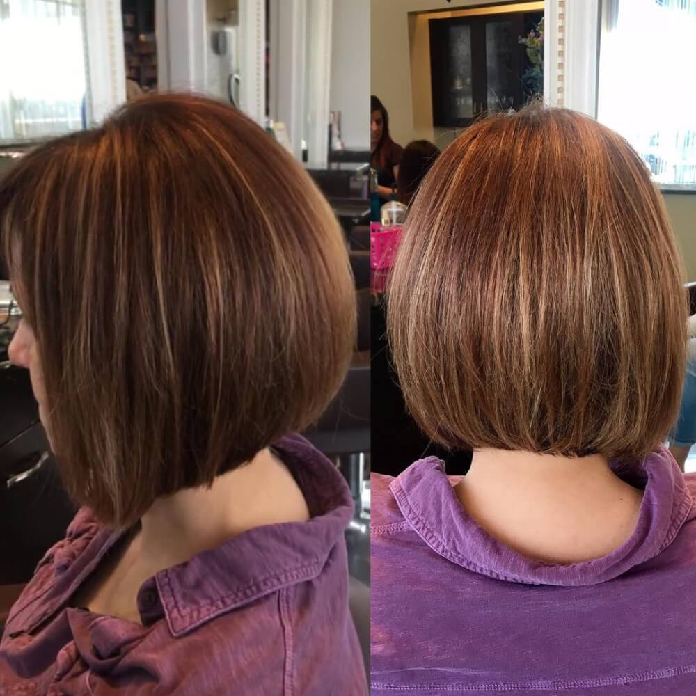 Disconnected Bob hairstyle