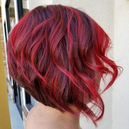 Tapered A-Line hairstyle