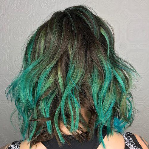 23 Incredible Teal Hair Color Ideas You Have To See For 2019