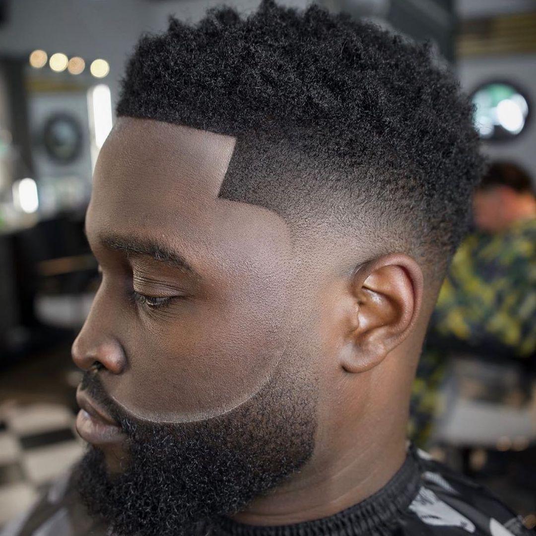 Desvanecimiento temporal de Ombre con barba