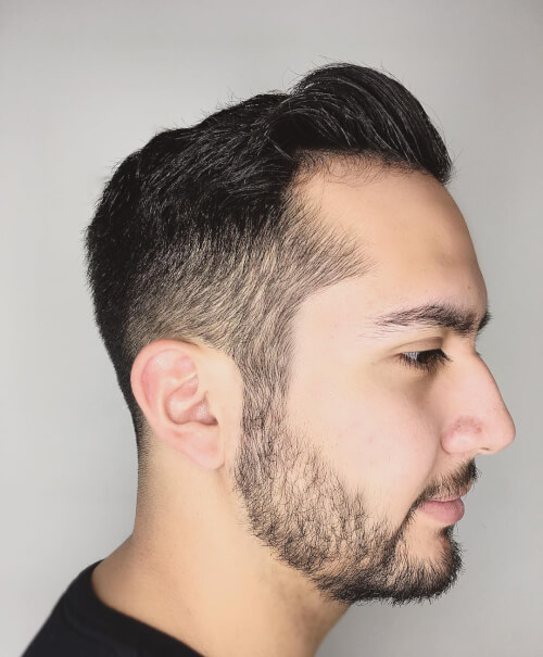 textured fade haircut that looks great on men