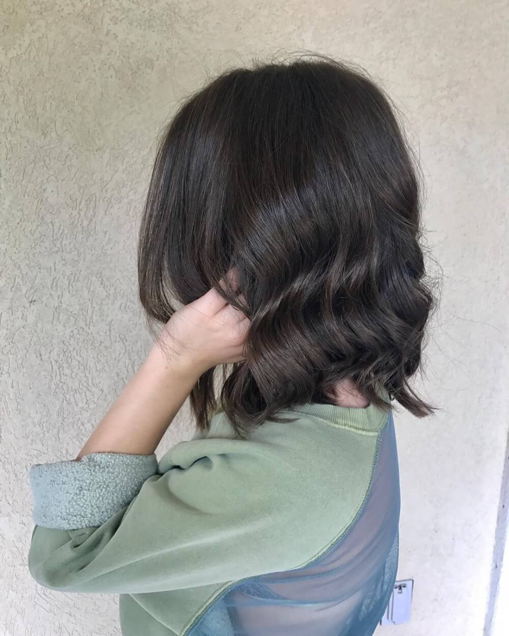 Cut-In Texture hairstyle