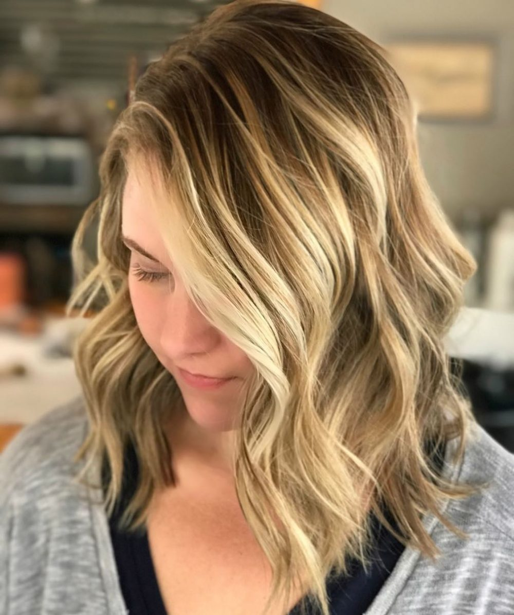Textured Lob Haircut hairstyle