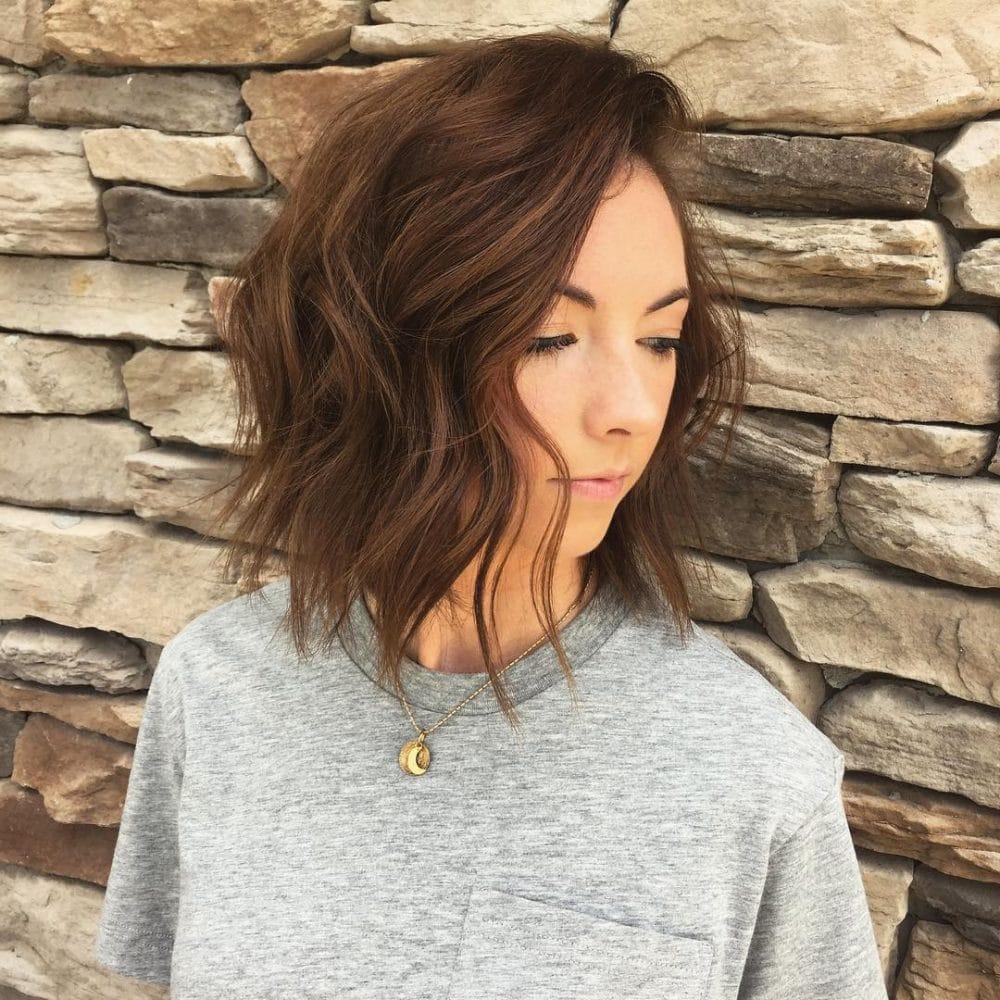Textured Beach Wave hairstyle