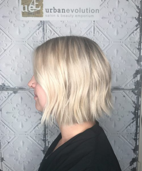 Textured Bob with Minimal Layers hairstyle