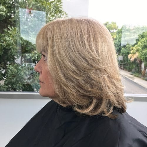 Textured Layered Haircut hairstyle