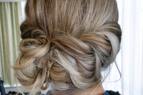 25 most beautiful updos for medium length hair new for 2017 the 26 most beautiful updos for medium length hair pmusecretfo Choice Image