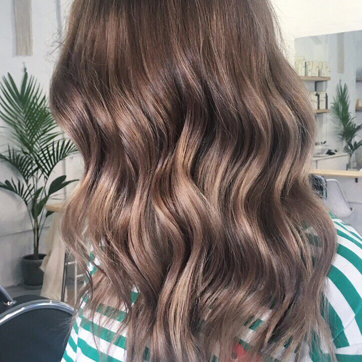 Textured Wave hairstyle