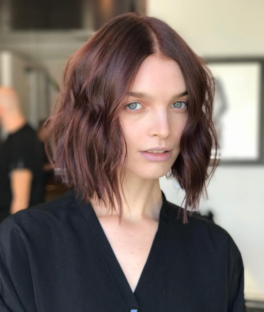 Texturized Bob hairstyle