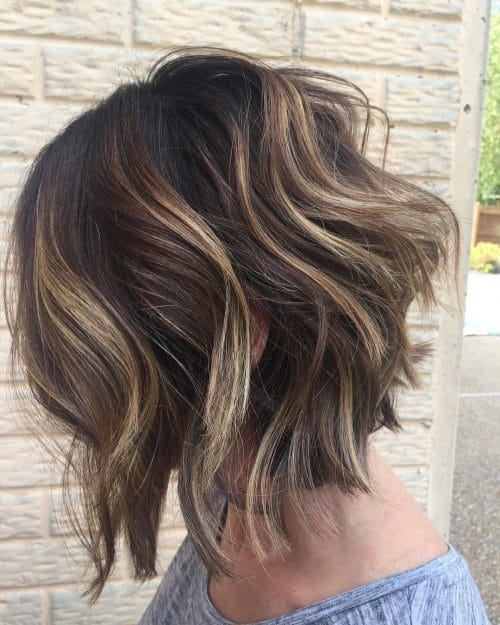 Short Lob Haircuts For Women