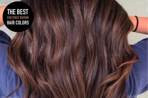 The best chestnut brown hair colors