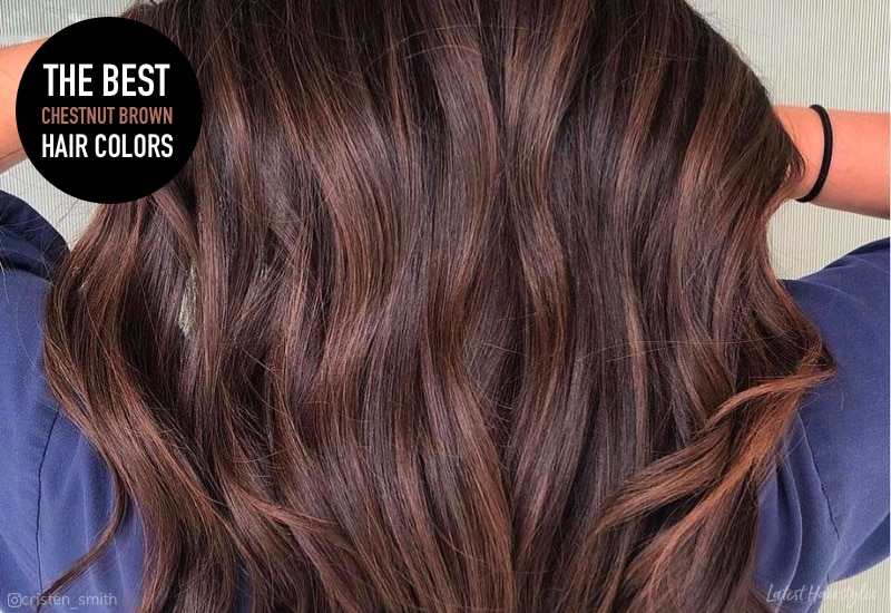 14 Stunning Chestnut Brown Hair Colors For 2020