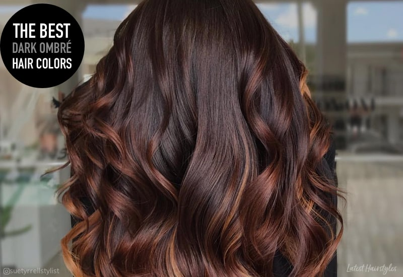 Dark Brown Ombre Hair Color Find Your